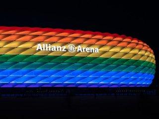 Uefa: Münchner EM-Arena darf nicht in Regenbogenfarben leuchten