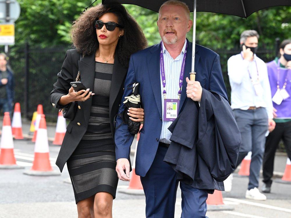 Boris Becker: Arm in Arm mit Lilian De Carvalho Monteiro