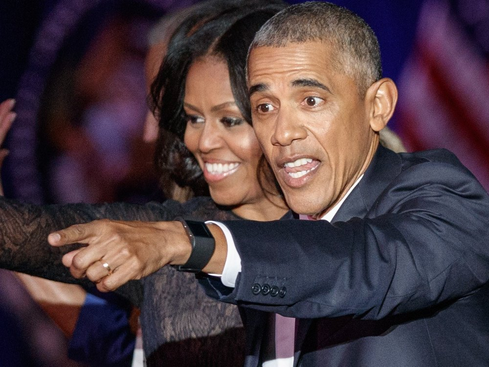 Barack und Michelle Obama: Liebevolle Worte zum Hochzeitstag