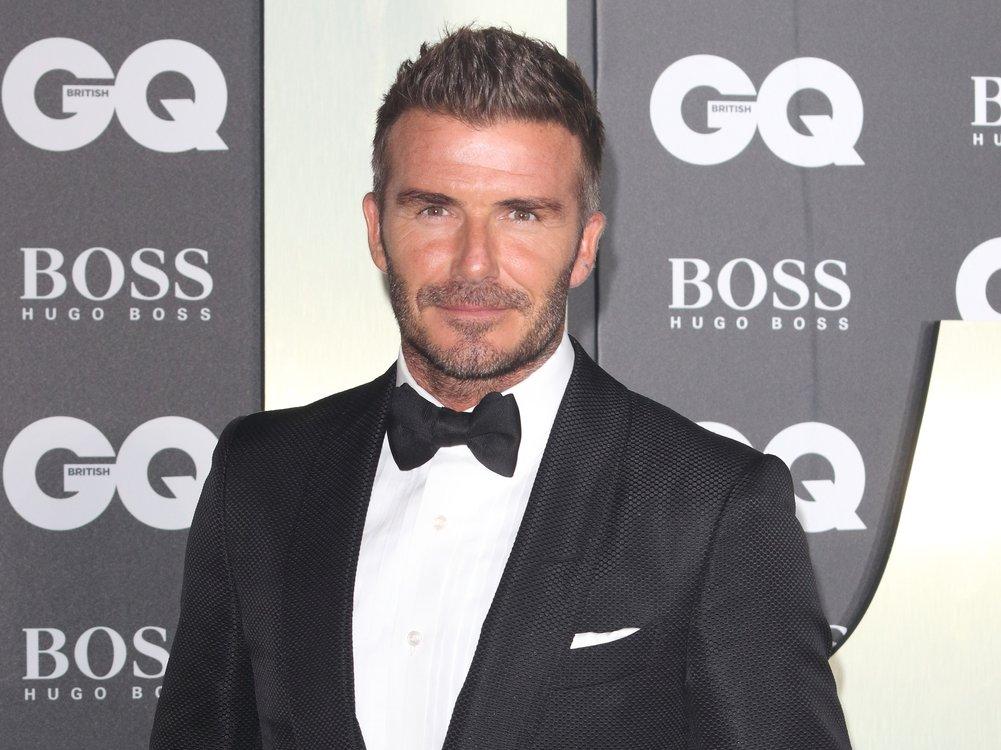 David Beckham lässt mit neuer Haarfarbe die 90er wieder aufleben