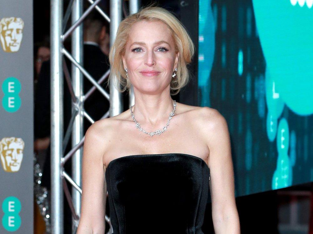 Gillian Anderson will nie wieder einen BH tragen