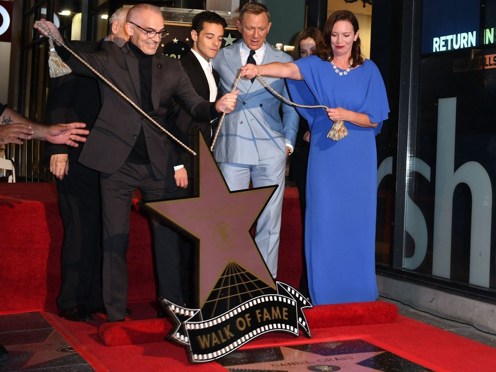 Daniel Craig enthüllt Stern auf dem Hollywood Walk of Fame