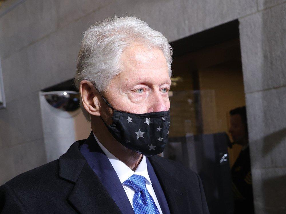 Bill Clinton liegt auf der Intensivstation