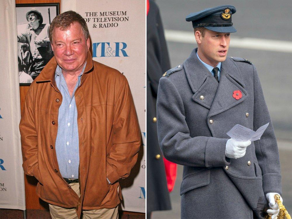 """William Shatner vs. Prinz William: """"Er hat eine falsche Vorstellung"""""""
