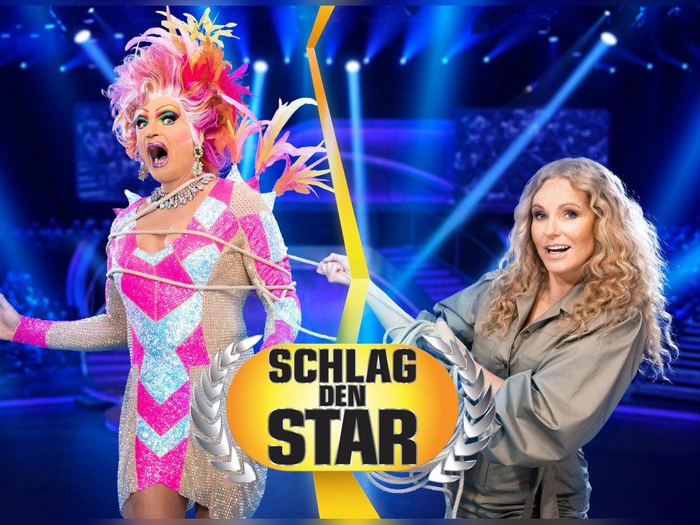 """""""Schlag den Star"""": Olivia Jones trifft auf Katja Burkard"""