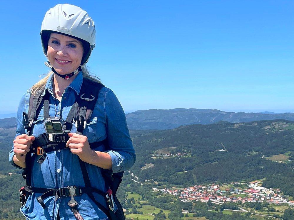 Judith Rakers bei Gleitschirmunfall in Spanien verletzt