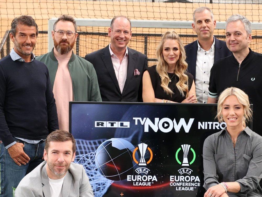 Europapokal: Zwei Weltmeister im Team von RTL und TVNow