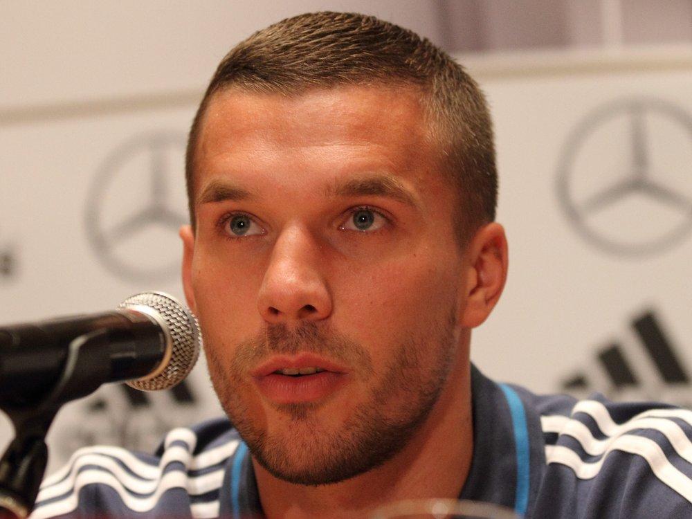 Lukas Podolski positiv auf Coronavirus getestet