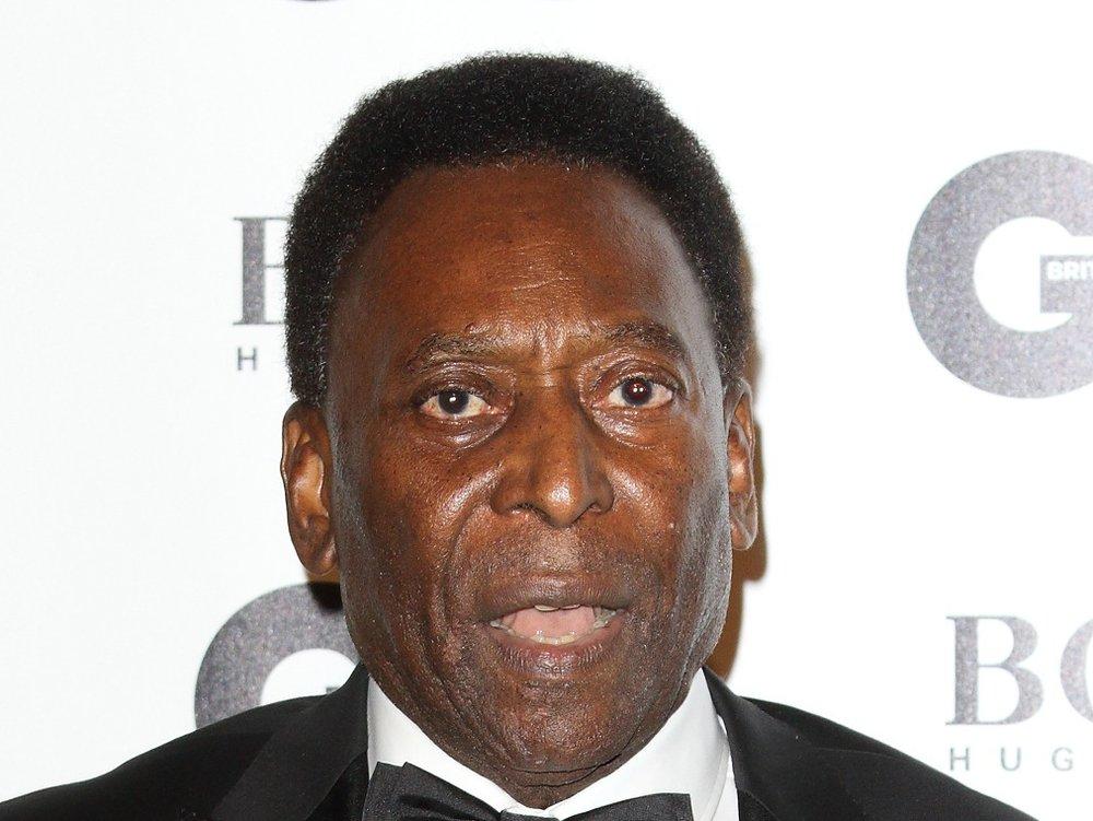 Fußballlegende Pelé ist im Krankenhaus – und gibt Entwarnung