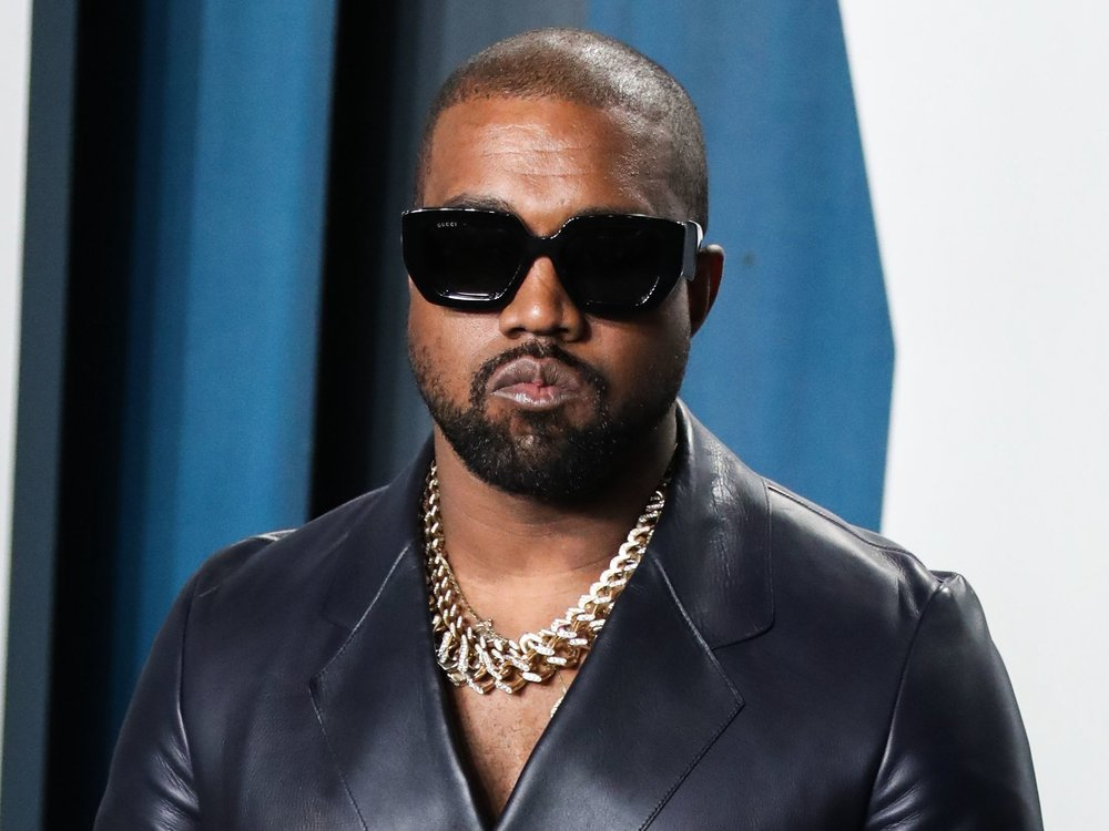Kanye West auf Kunsttour durch Berlin
