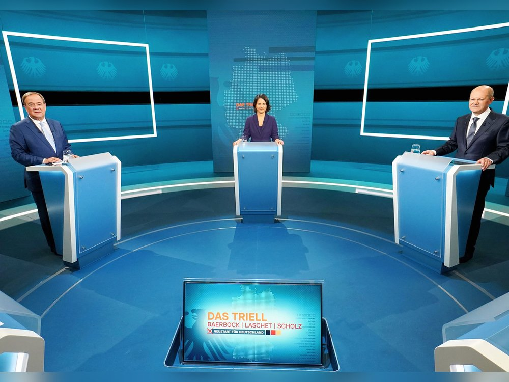 "Forsa-Umfrage: Olaf Scholz ""gewinnt"" das TV-Triell"