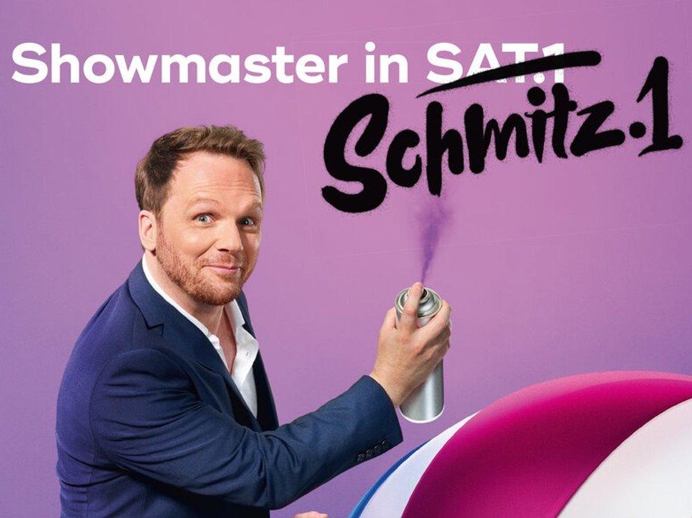 """""""Freundliche Übernahme"""": Sat.1 ändert für Ralf Schmitz das Senderlogo"""