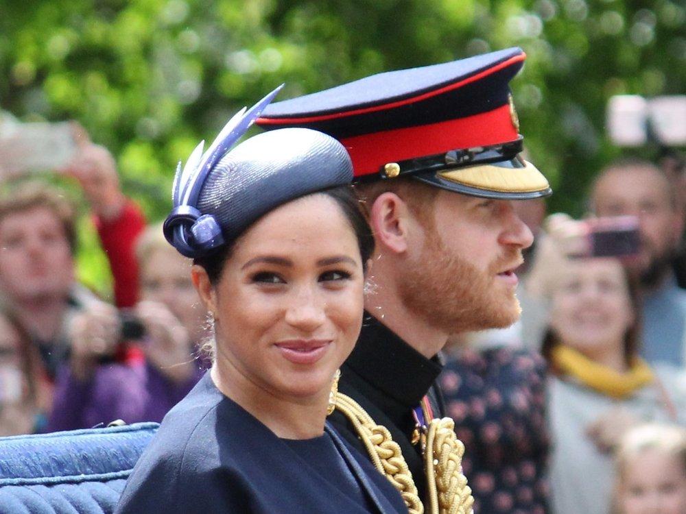 Meghan und Harry möchten die kleine Lilibet der Queen vorstellen