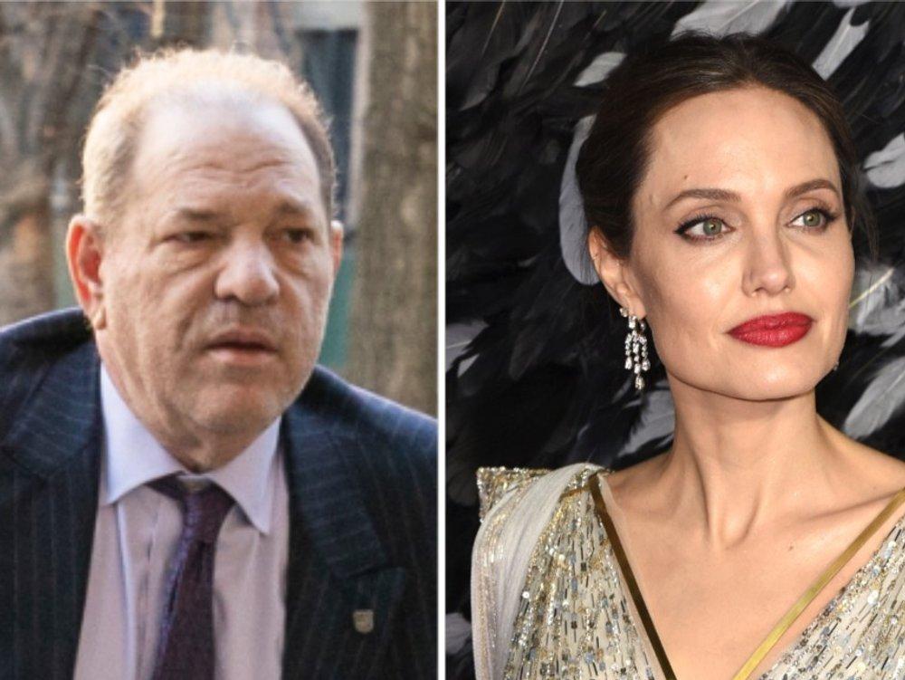 """Harvey Weinstein nennt Angelina Jolies Vorwürfe """"unverschämt falsch"""""""