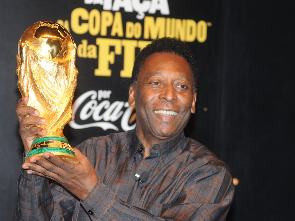 Fußball-Ikone Pelé wegen Tumor im Krankenhaus