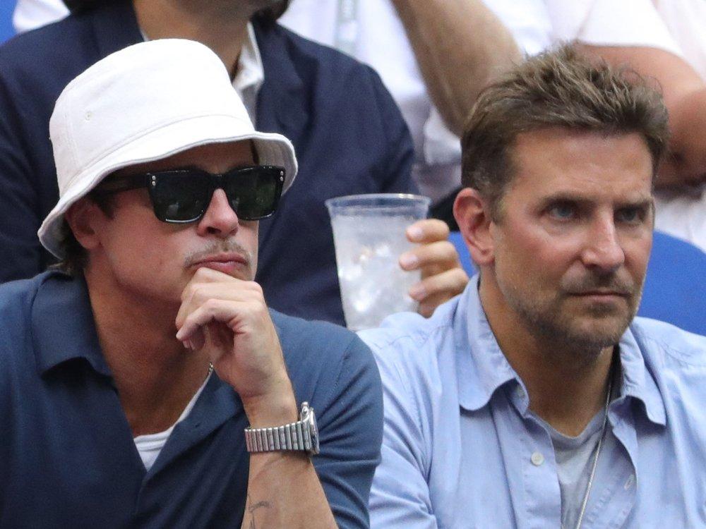 Brad Pitt und Bradley Cooper: Kumpelausflug zu den US-Open