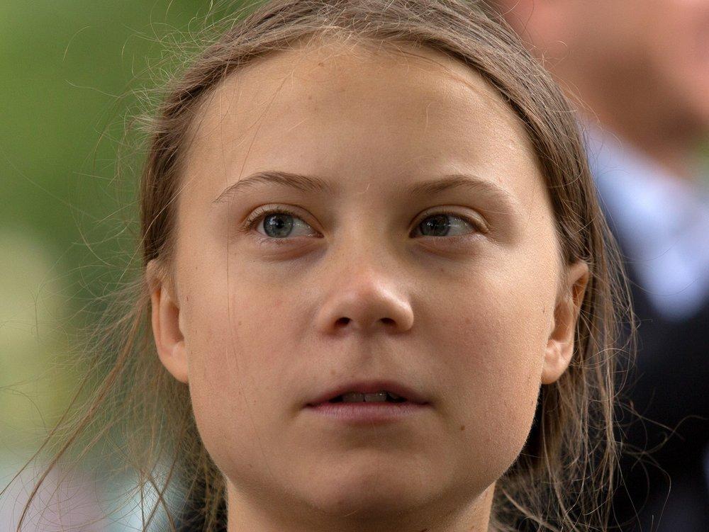Kurz vor der Wahl: Greta Thunberg demonstriert in Berlin