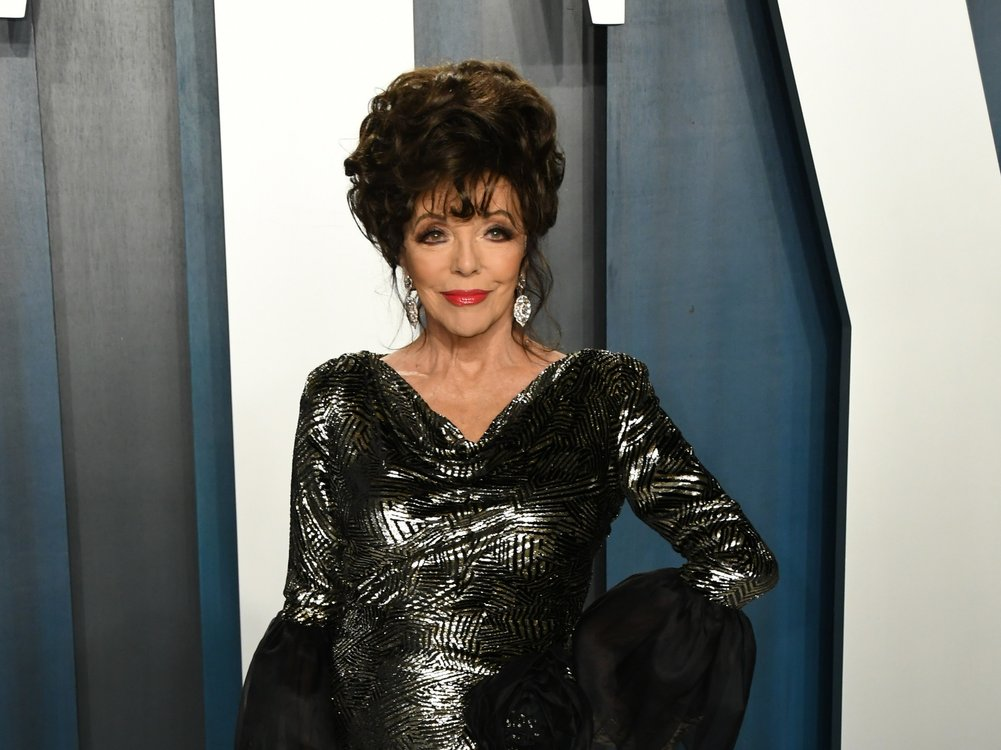 """Denver-Clan""-Star Joan Collins legt sich mit dem Kardashian-Clan an"