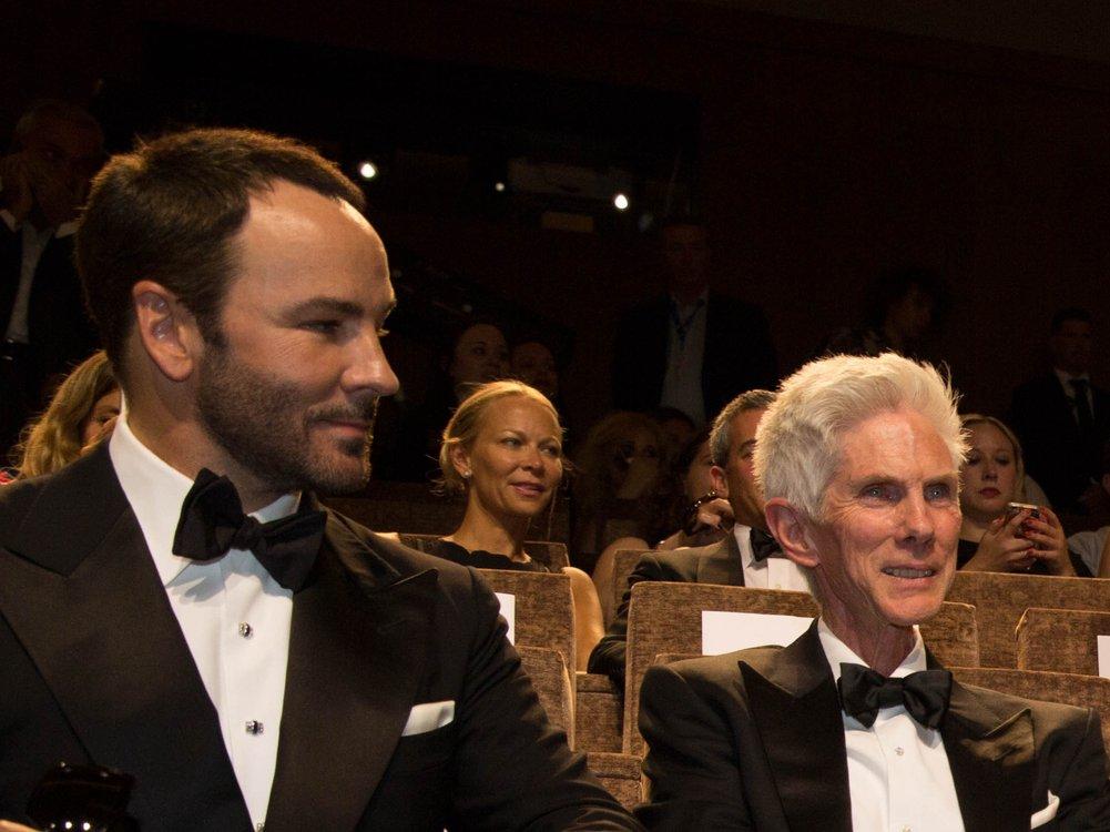 Modedesigner Tom Ford trauert um Ehemann Richard Buckley