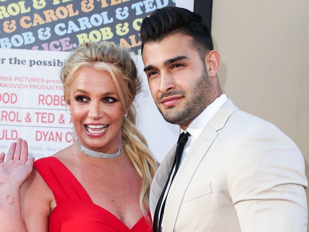 Britney Spears und Sam Asghari scherzen über Nachwuchs
