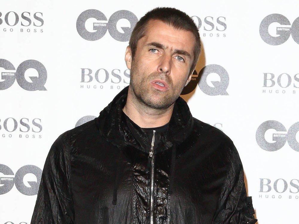 Lädiertes Gesicht: Liam Gallagher aus einem Helikopter gefallen?