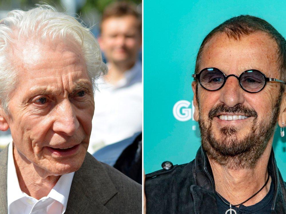"""""""Ein wunderbarer Mensch"""": Ringo Starr würdigt Charlie Watts"""