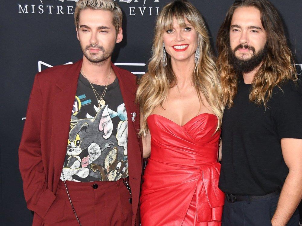 Heidi Klum und Bill Kaulitz: Kleiner Popo-Contest im Urlaub