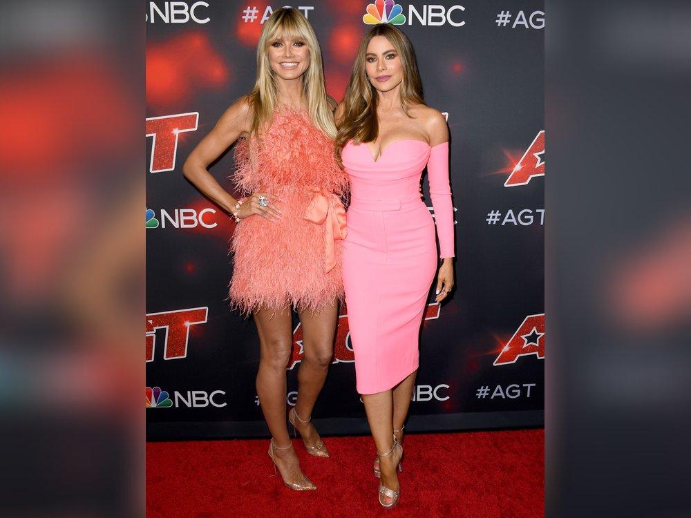 Heidi Klum und Sofia Vergara: Fashion-Duell auf dem roten Teppich